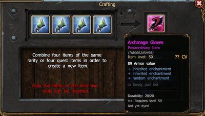 Crafting gloves enchantments BC-0