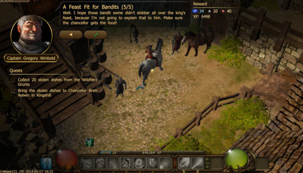 A feast fit for bandits 5.1