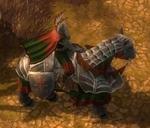 Armed Knight Horse