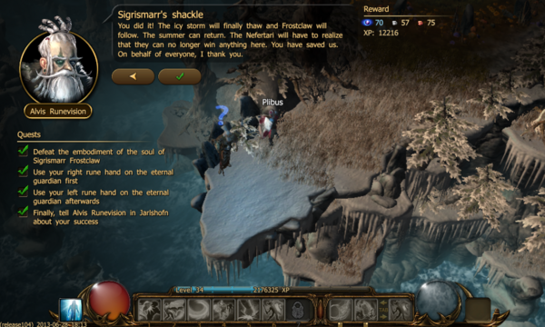Sigrismarr's shackle f