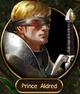 Prince Aldred (blinded)