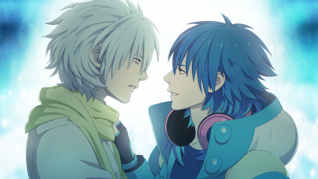 File:Clear and aoba looking at eachother face to face.jpg