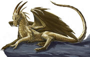 Gold Dragon by BenWootten