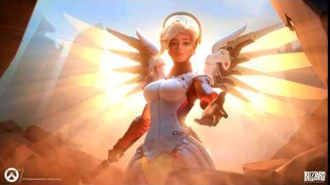 Overwatch Mercy's Ultimate - Heroes never die!
