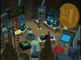 Captain Hero's lair