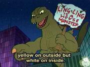 GodzillaOnDrawnTogether