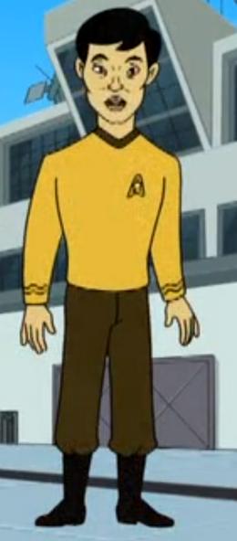 Hikaru Sulu in Drawn Together