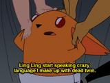 Ling Ling starts speaking Japorean