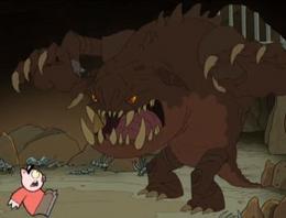 Trapdoor Monster