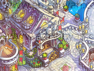 Outside's Rose's Mansion
