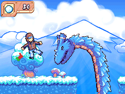Frostwind scaring Hero