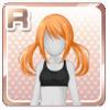 Classmate's Hairstyle Orange