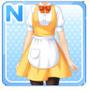 Regular Waitress Yellow