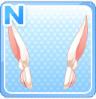 Rabbit-Ear Headphones White