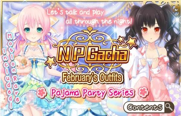 Pajama Party Contents