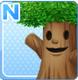 Smiling Tree Green
