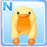 Chick Hood Yellow