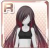 Elegant Hair Black Rose