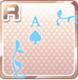PLaying Card Frame Light Blue