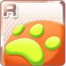 File:Paw-Print Cushion Orange.png