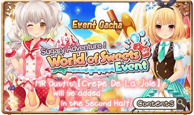 World Of Sweets Event Gacha