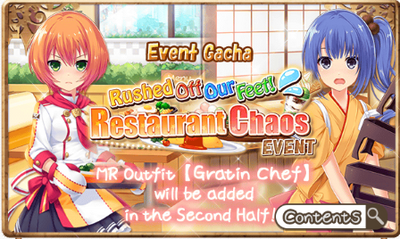 Restaurant Chaos Event Gacha