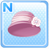 Old-Timey Hat Pink