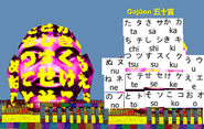 Gojuon buddha head