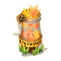 Autumn in jar deco