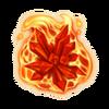Volcanic crystal