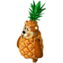 Pineapple bear deco