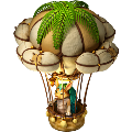Armadillo on air balloon deco.png