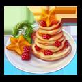Tangerine pastry