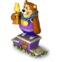 Bear champion deco