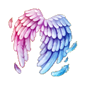 Coll cupid wings