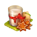 Coll christmas milk cookie