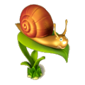 Happy snail deco