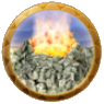 Dream icon volcano