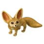 Fennec fox deco
