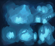 Dream illus caves