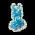 Ice sculpture deer deco
