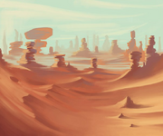 Dream illus desert