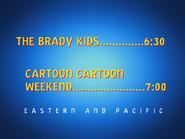 UToons TV next bumper brady kids cartoon cartoon weekend