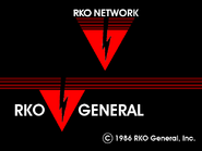 RKO Network ident with RKO General 1986