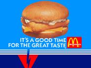RKO Network McDonald's bumper 1986