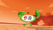 UltraToons Network bumper - Crab playing volleyball