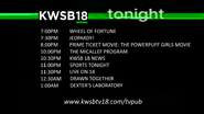 KWSB Tonight September 4, 2014
