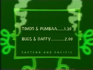 UToons TV Next bumper - Timon & Pumbaa to The Bugs & Daffy Show (2009)