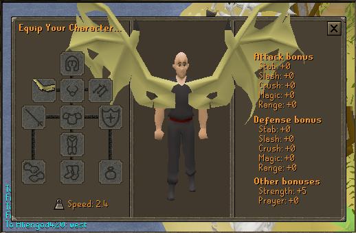 Yellow Dragon Wings (Vorago) Stats