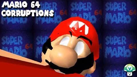 Mario eats a mushroom.